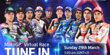 MotoGP Virtual Race March
