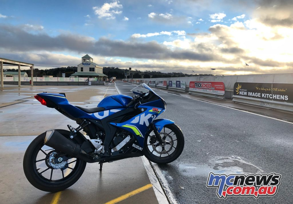 Suzuki GSX R Track Days Looking the business at Wakefield Park