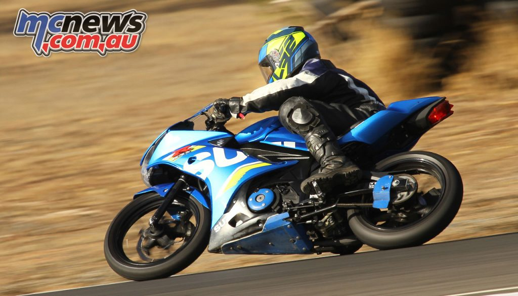 Suzuki GSX R Track Days Looks and handles like a real sports bike Morgan Park