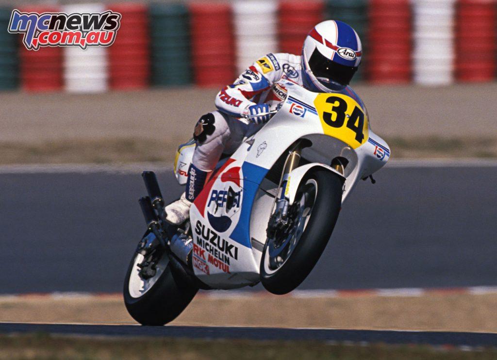 Suzuki MotoGP Kevin Schwantz