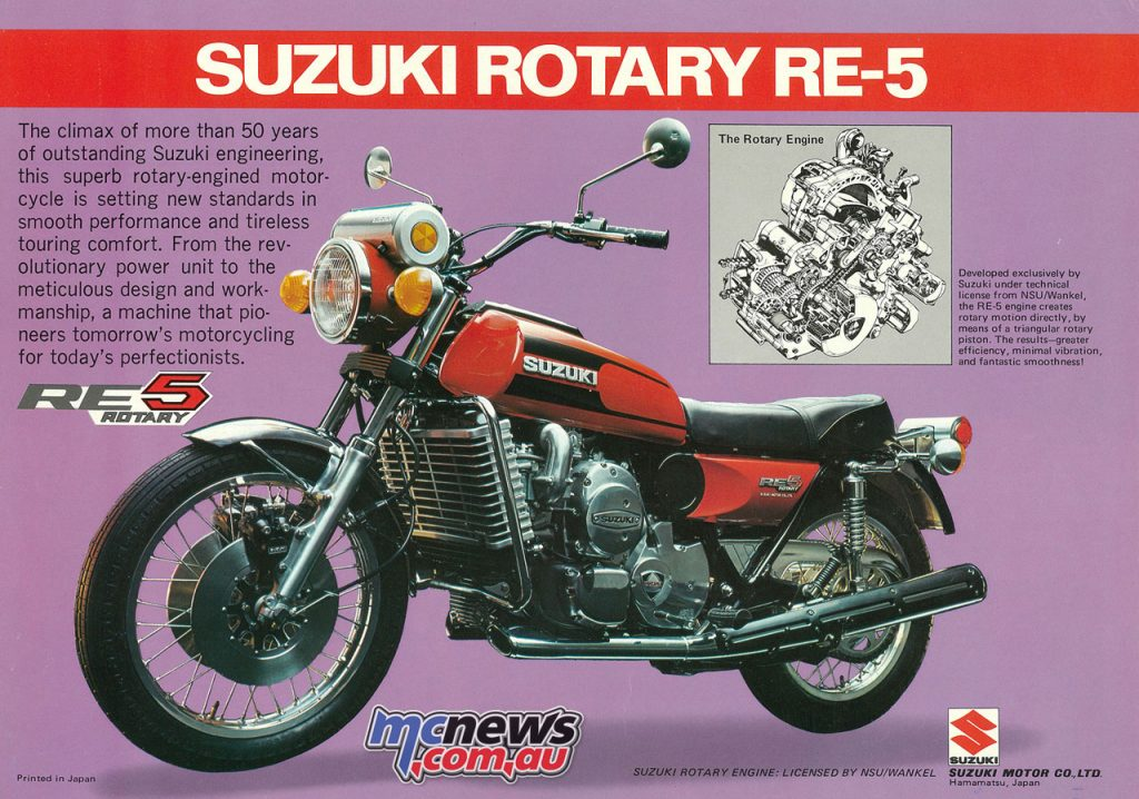 Suzuki Rotary RE