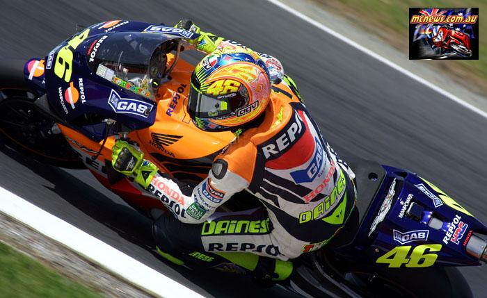 Australian GP MotoGP Rossi Top B Half