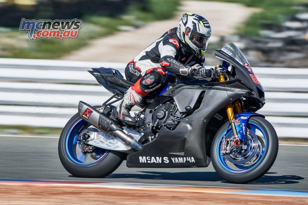 BSB Yamaha Chad DSC YZF R