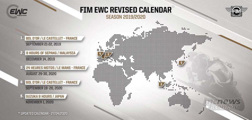 FIM EWC Calendar