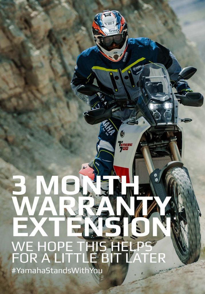Yamaha Warranty Extension