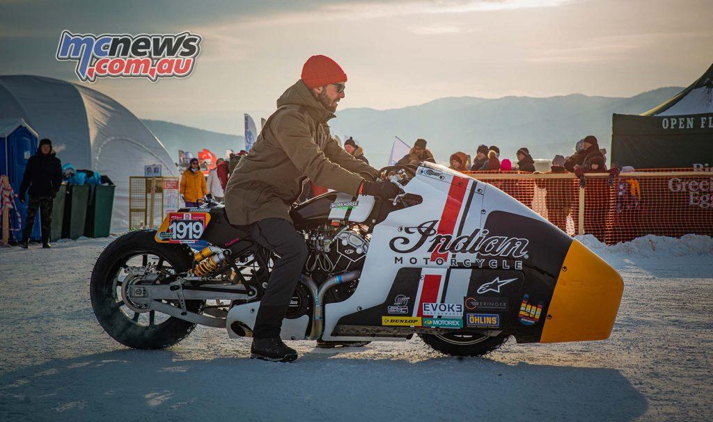 Baikal Mile Ice Speed Festival Indian Appaloosa eebc