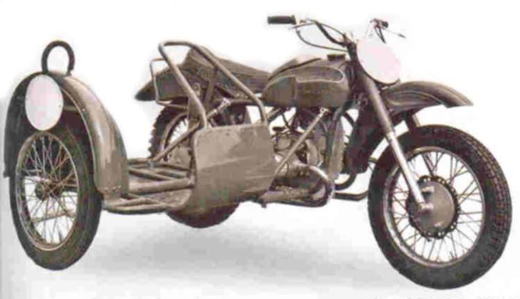 Irbit Sidecar MX