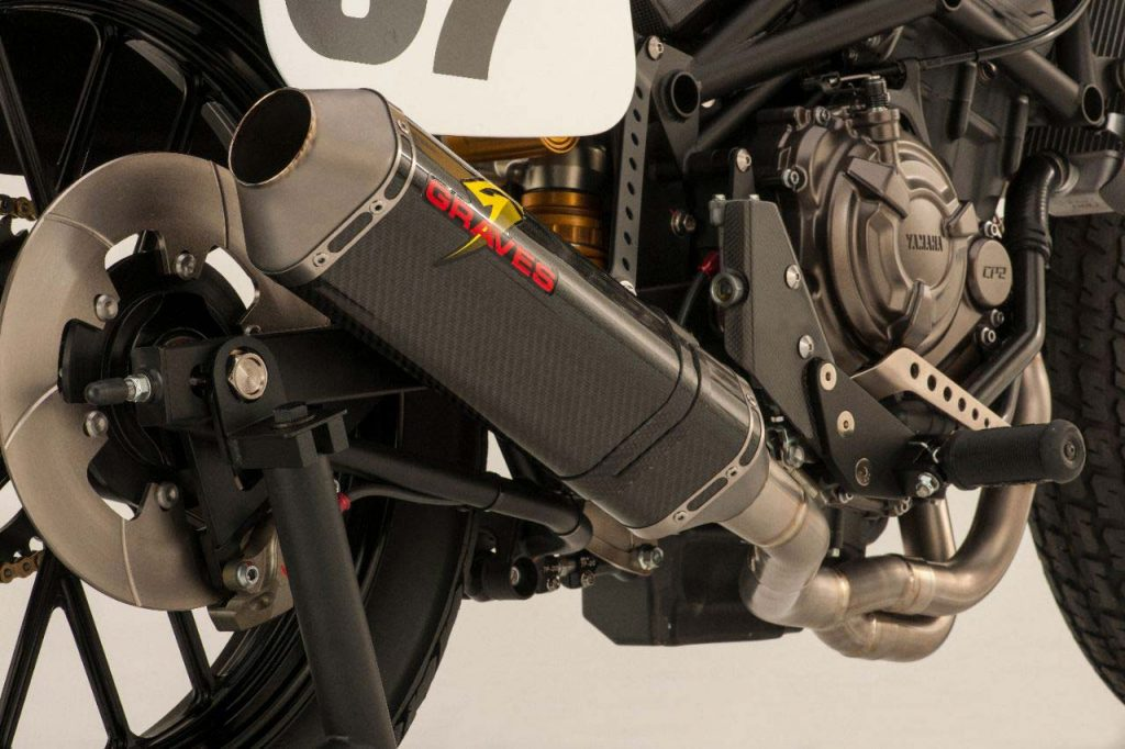 Yamaha MT Flat Track Exhaust