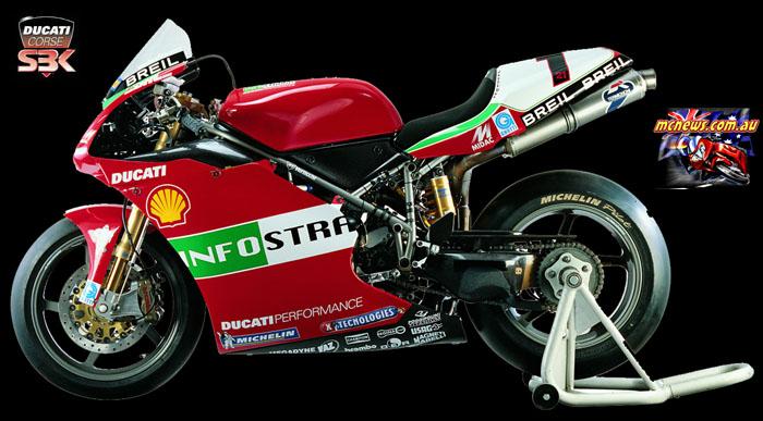 WorldSBK Bayliss Ducati Race p