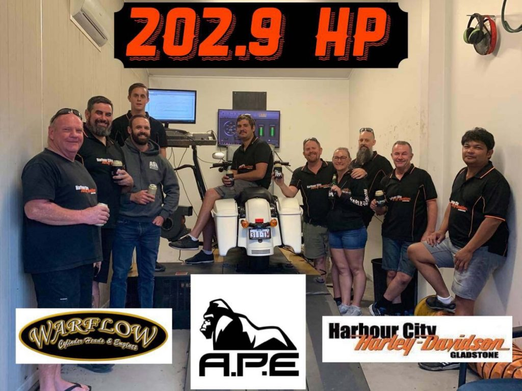 Alpha Performance Engines APE Road King Special Celebration