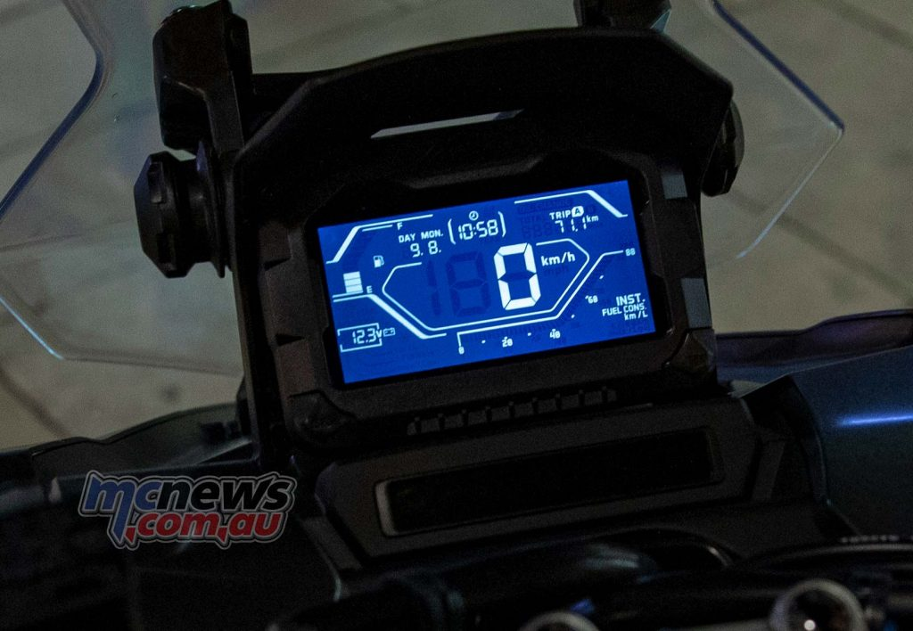Honda ADV Dash