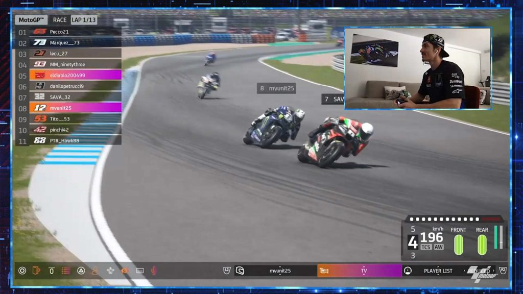 Virtual Gp Of Spain Vinales