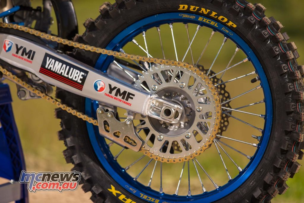 Yamaha YZF Levi Rogers Rear wheel