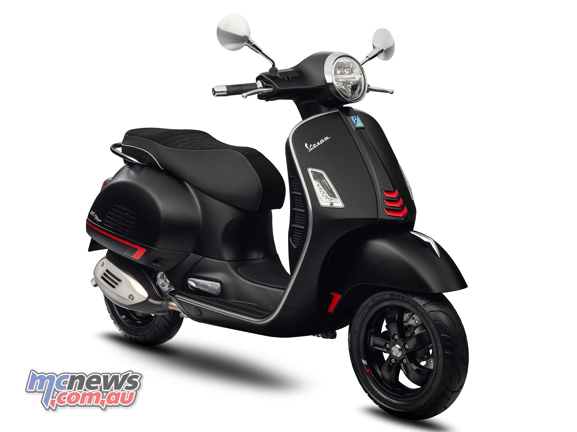 Vespa Gts Super Sport 300 Hpe Lands In Australia Motorcycle News Sport And Reviews