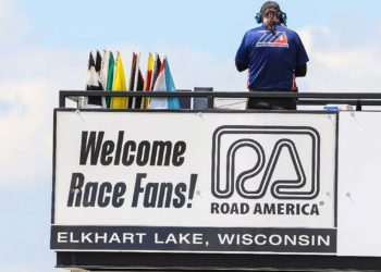 Fans will be welcome for round two of the 2020 MotoAmerica Series at Road America in Elkhart Lake, Wisconsin, June 26-28. Photo by Brian J. Nelson