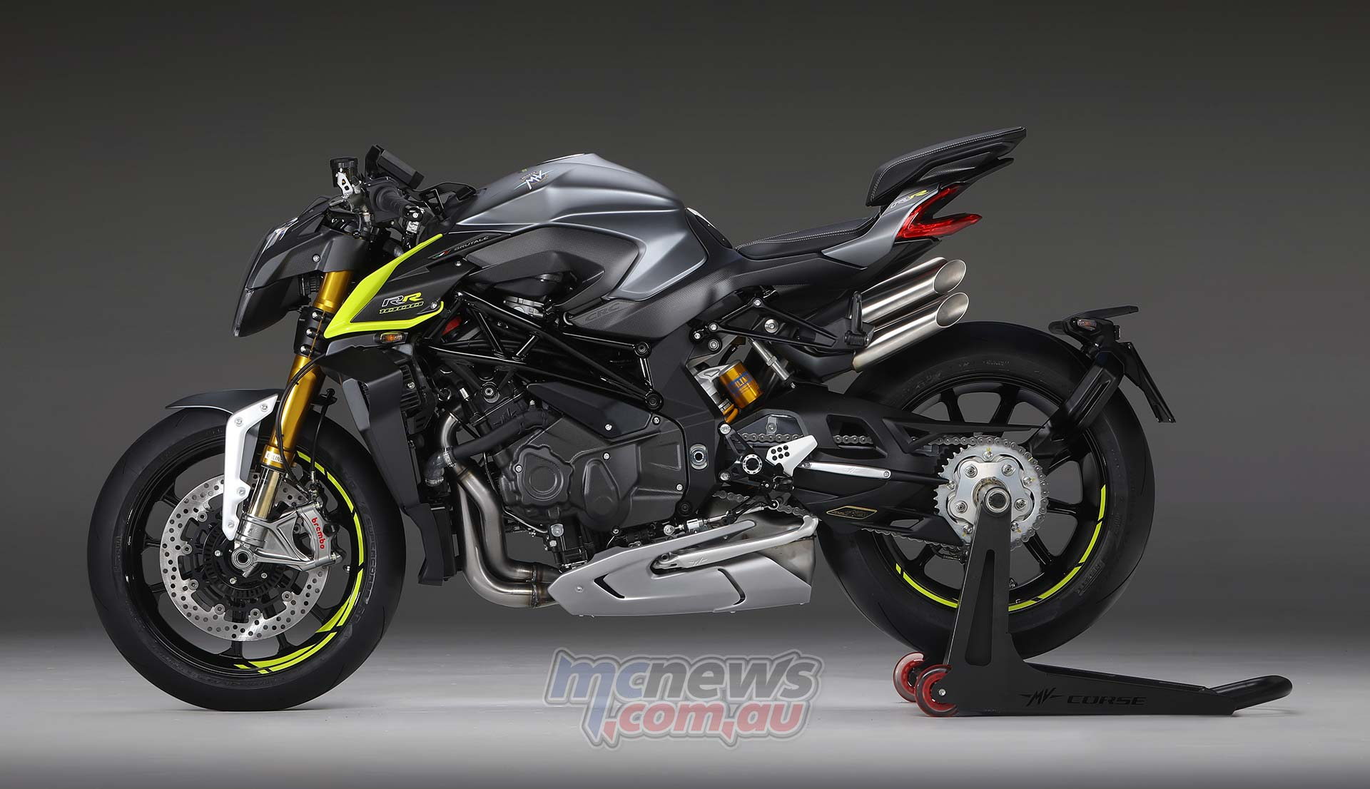 MV Agusta Brutale 1000 RR is available in two different colour schemes