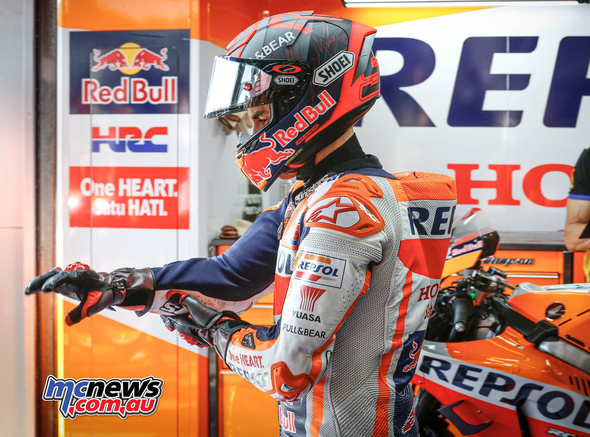 Marquez And Puig Explain Withdrawal Motorcycle News Sport And Reviews