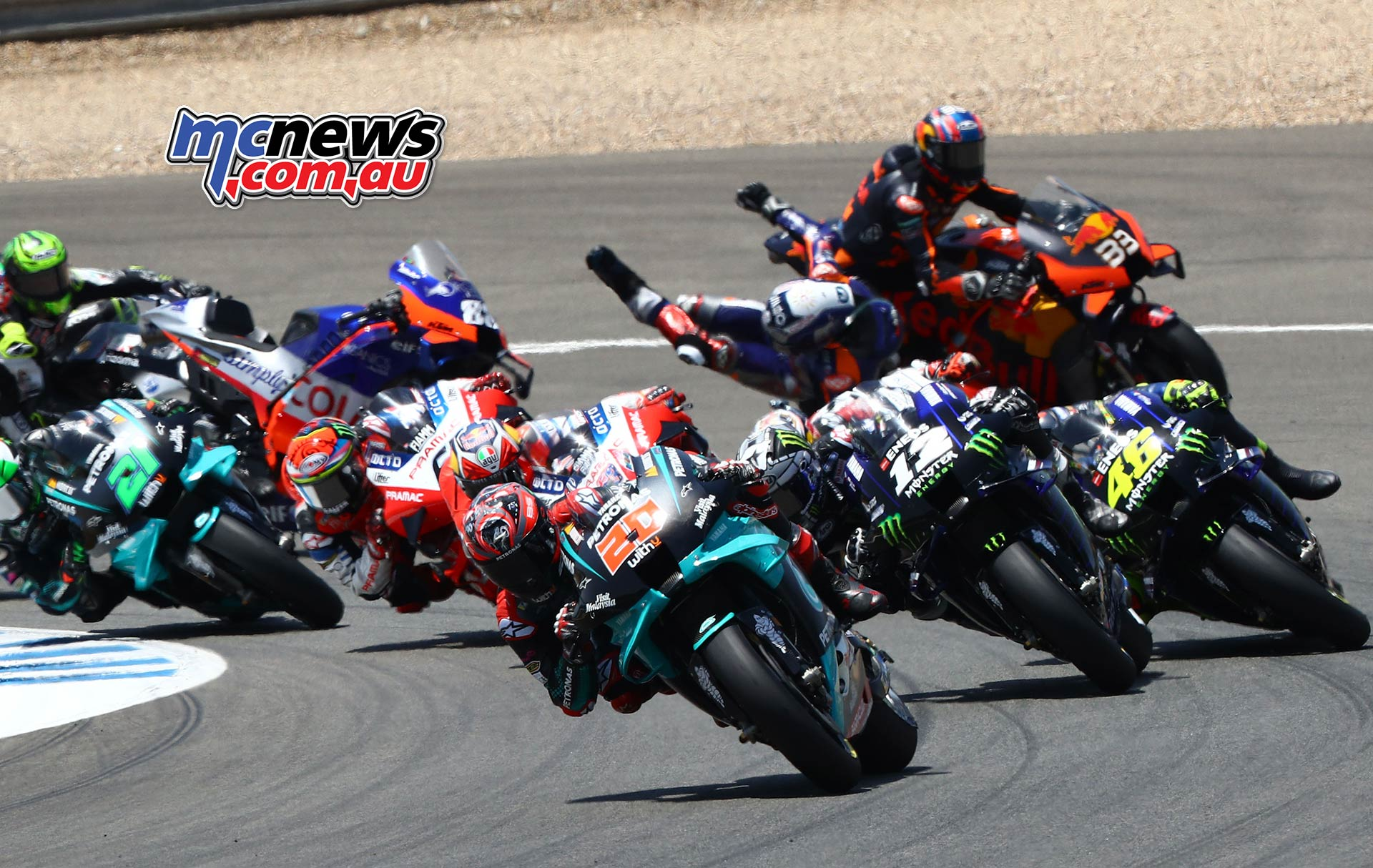 Motogp Riders Reflect On Gran Premio Red Bull De Andalucia Motorcycle News Sport And Reviews