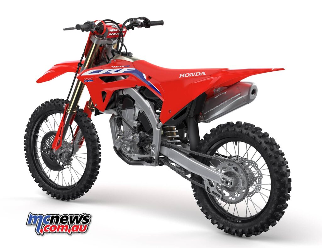 2021 honda crf450r essentially allnew  biker shootout