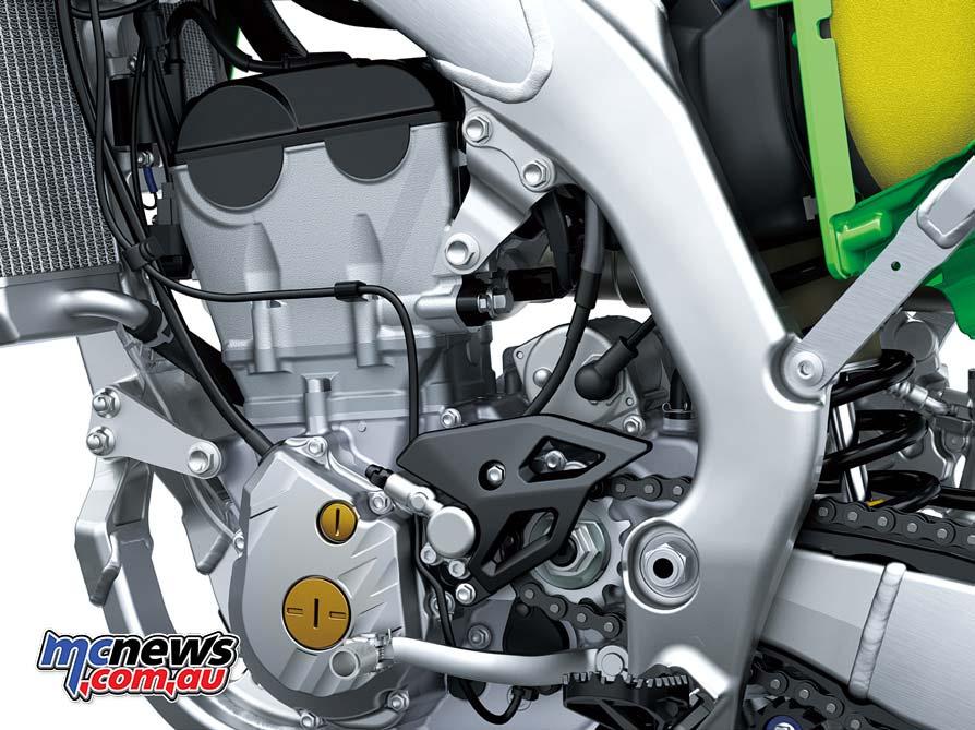 2021 Kawasaki KX250 engine