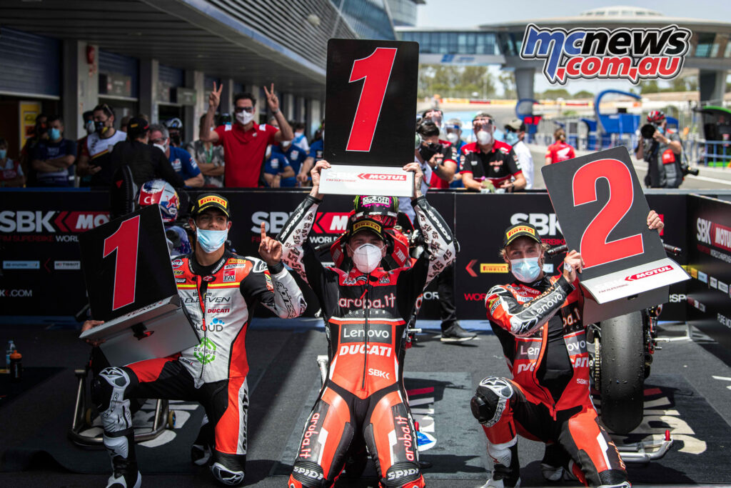 Redding and Davies claim Ducati's first 1-2 since 2012 at Jerez