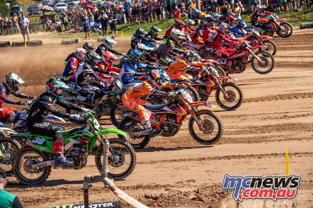 Tom Vialle claimed the FOX Holeshot - 2020 MXGP of Latvia