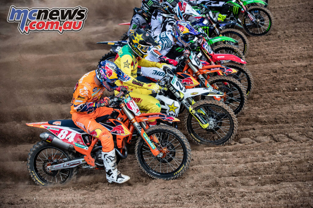 MXGP Start - 2020 MXGP of Kegums