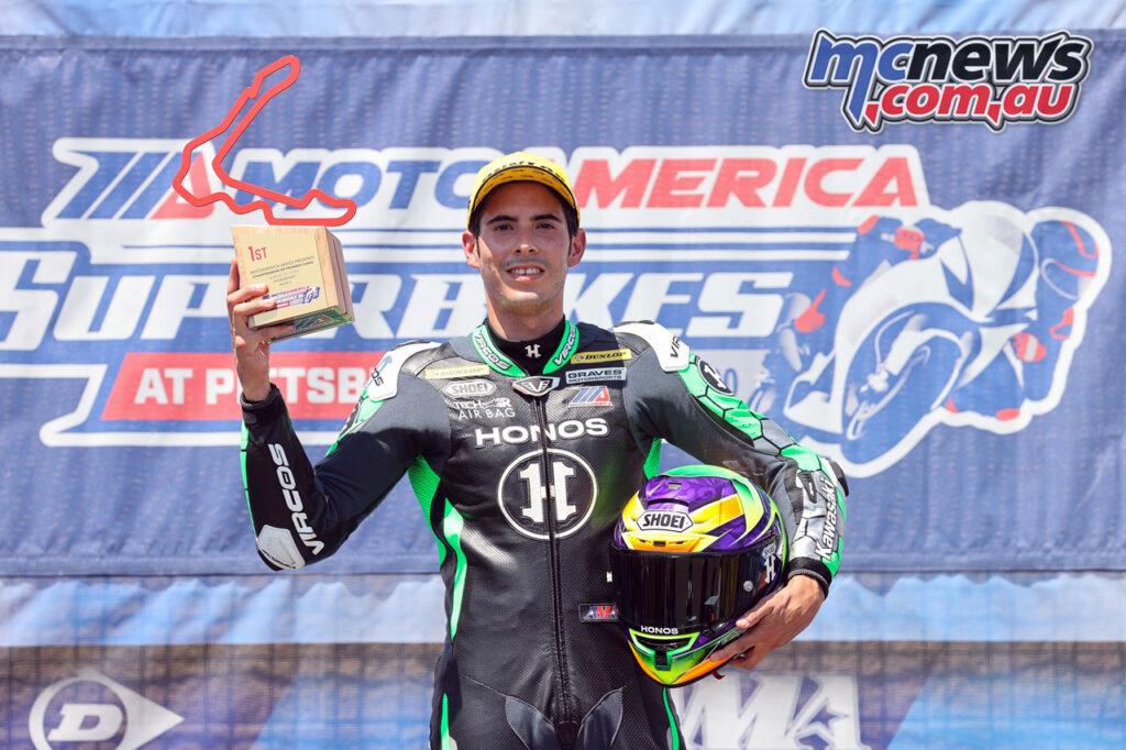 Richie Escalante - 2020 MotoAmerica Round 4, Pittsburgh