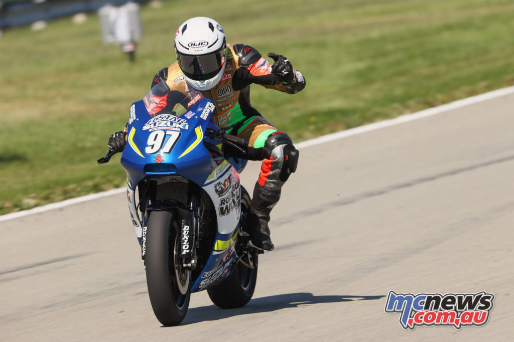 Rocco Landers also won the Twins Cup race - 2020 MotoAmerica Round 4, Pittsburgh