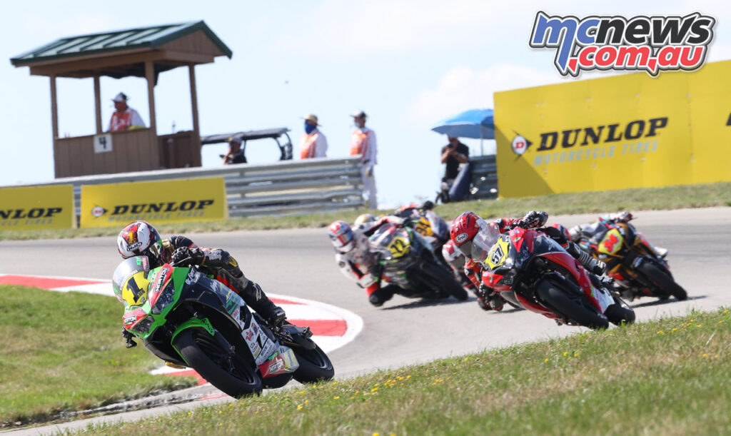 Rocco Landers proved unstoppable - 2020 MotoAmerica Round 4, Pittsburgh