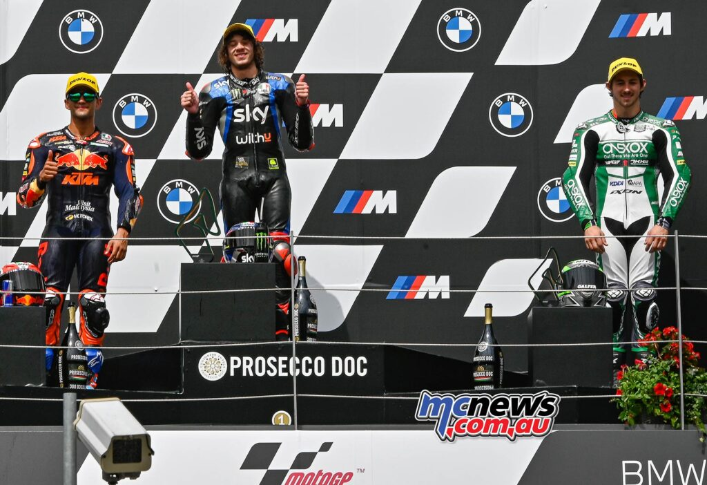 Remy Gardner also claimed P3 at Red Bull Ring in the Moto2 class