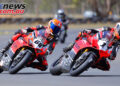 Oli Bayliss jumps on board the Desmosport Ducati V4R superbike in Queensland