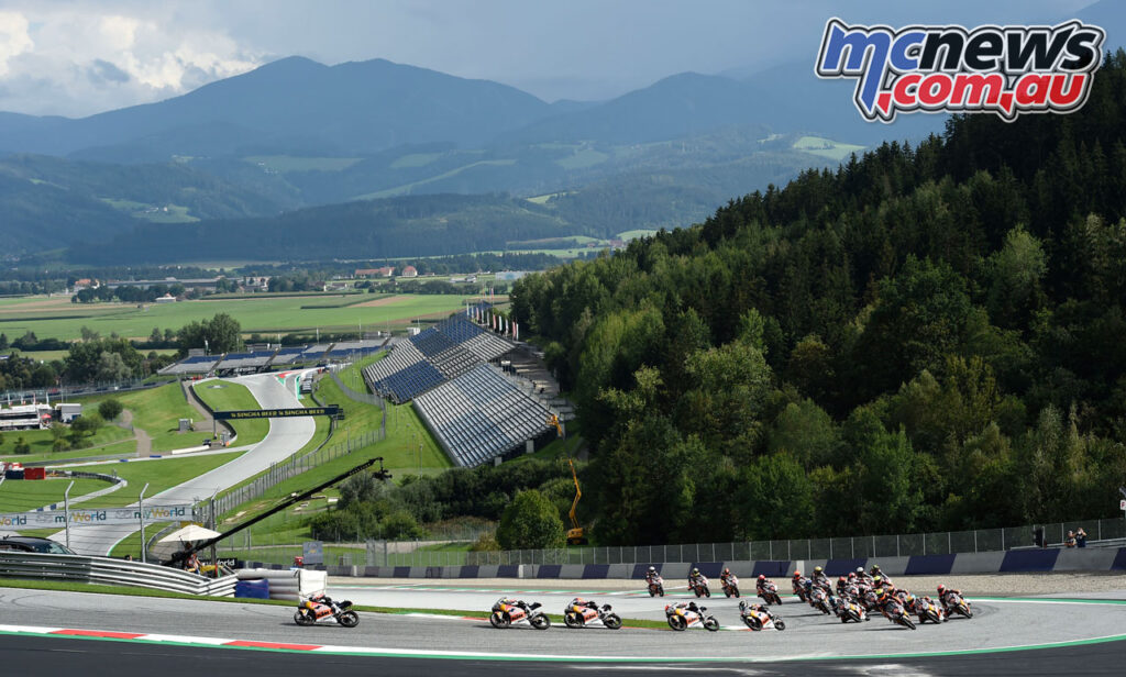 Red Bull MotoGP Rookies kicked off racing on Saturday