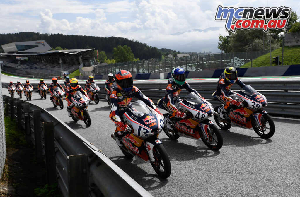 Red Bull MotoGP Rookies back on track in Austria