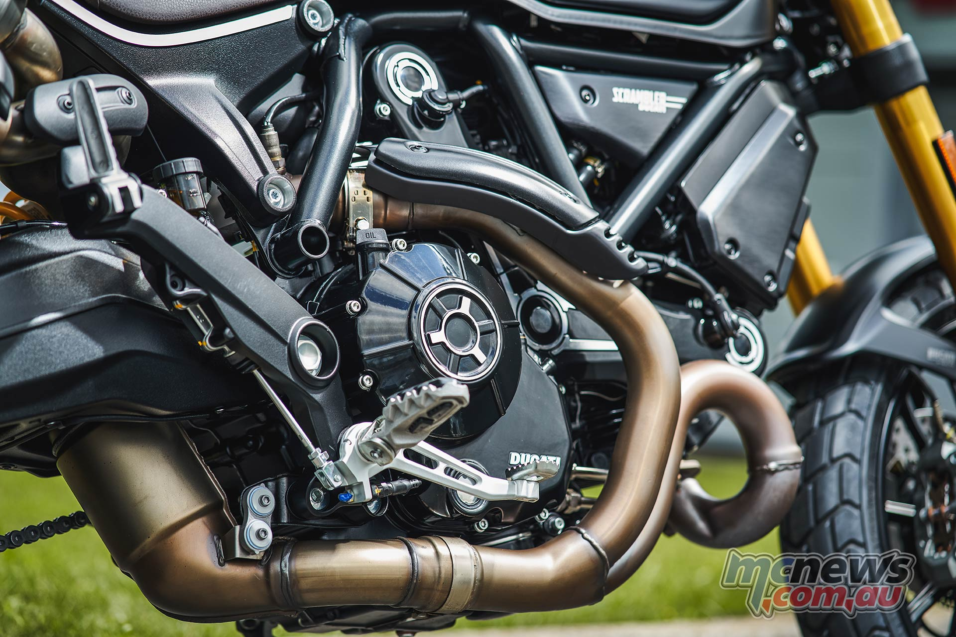2021 Ducati Scrambler 1100 Sport Pro and Pro are powered by an 1079 cc two-valve L-Twin