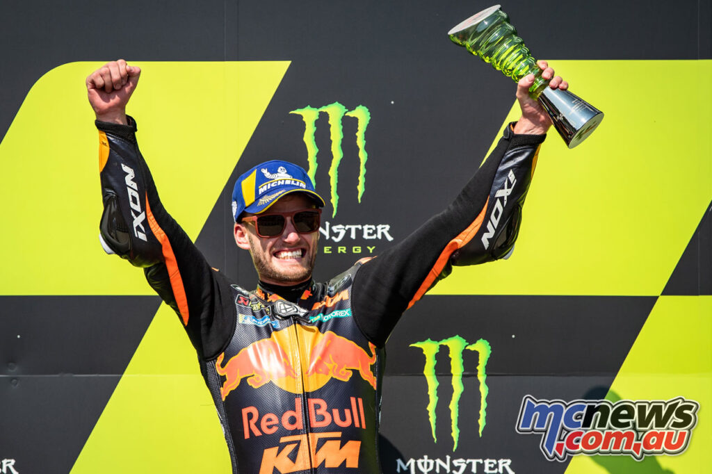 Brad Binder won the first MotoGP race for himself, South Africa, and Ixon
