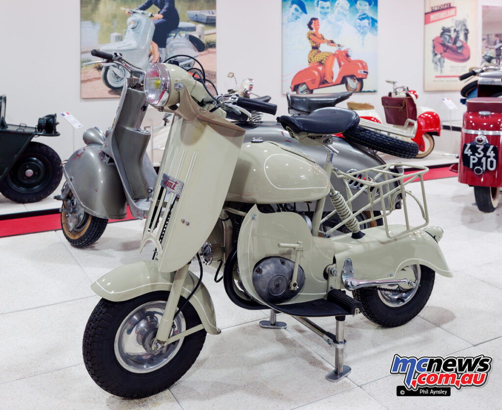 Zoppoli moped by AMI with Sachs 125cc two-stroke motor