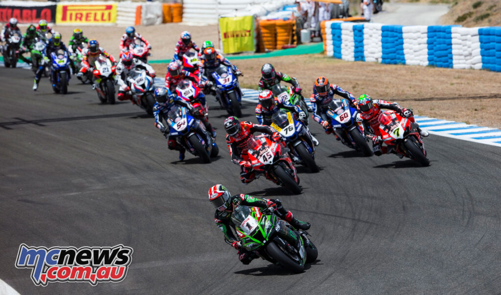 Sunday's Superpole Race proved Jonathan Rea's time to shine