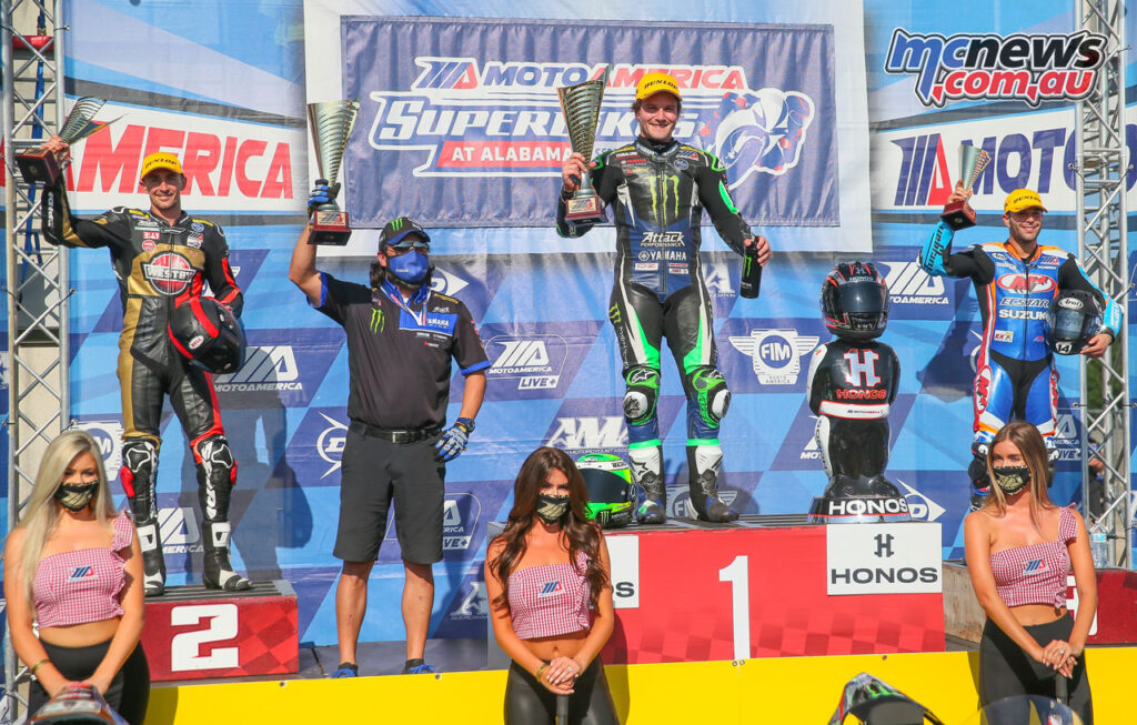Cameron Beaubier topped the podium from Matthew Scholtz and Bobby Fong