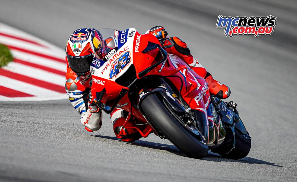 After passing through Q1, Jack Miller has qualified fourth as the highest-placed Ducati rider. This is the fifth successive race that Miller is the top Ducati rider on the grid, a sequence that started in Austria (although Johann Zarco was the top Ducati in qualifying in Styria before he started from pitlane).