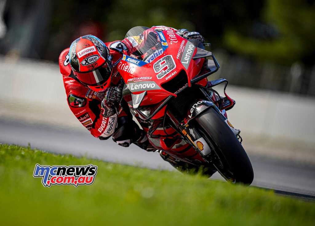 Danilo Petrucci, who finished third last year in Catalunya, has qualified in ninth place, equalling his second-best qualifying result so far this season from Emilia Romagna. Brno was his best, when he was eighth.