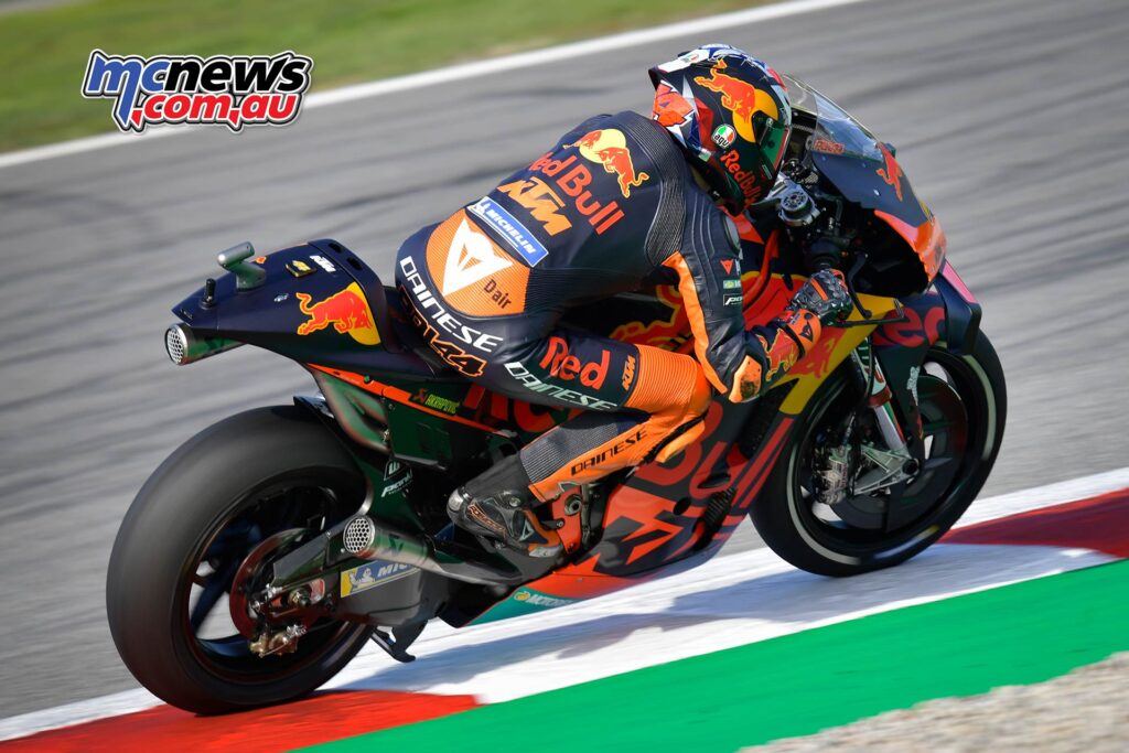Heading the third row of the grid is Pol Espargaro in seventh. This is KTM's best MotoGP qualifying at the Circuit de<br /> Barcelona-Catalunya.