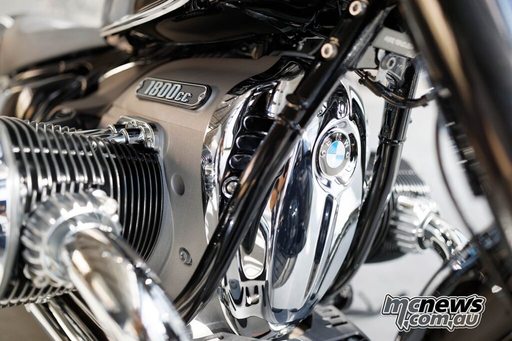 The Big Boxer engine is the star of the show