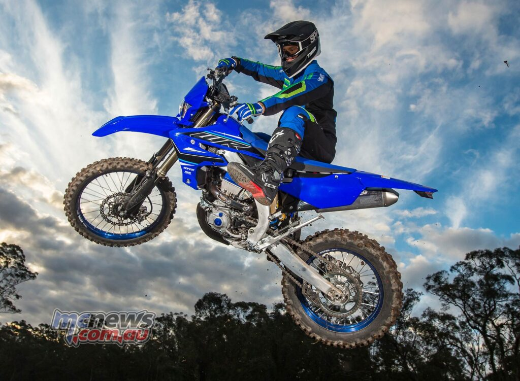 Twin-chamber KYB forks and high-spec' shock is one of the best set-ups in the business