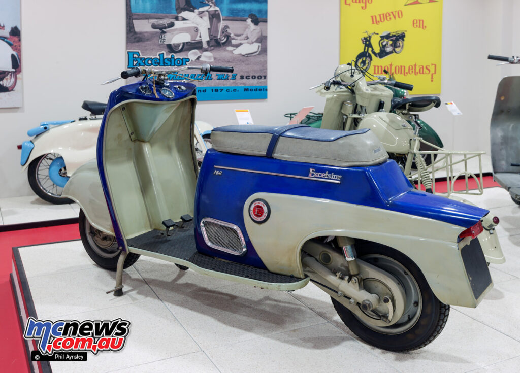 Excelsior Monarch DKR MKII 1960 Scooter