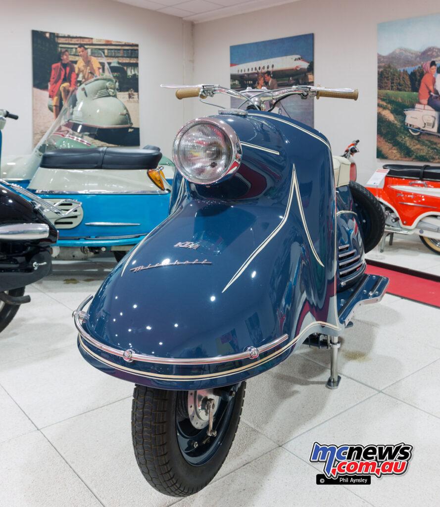 1956 KTM Mirabel 125 Luxus.