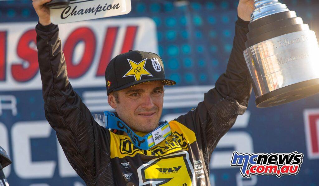 Jett Lawrence Wins AMA Pro MX Finale | Video Highlights ...