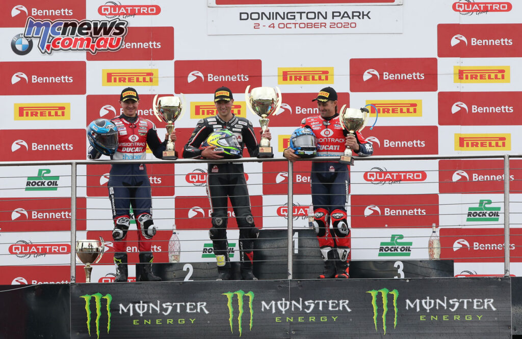 Andrew Irwin topped the podium from Iddon and Brookes