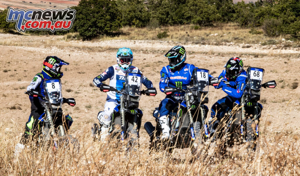 The Monster Energy Honda Team is really for the Andalucia Rally 2020