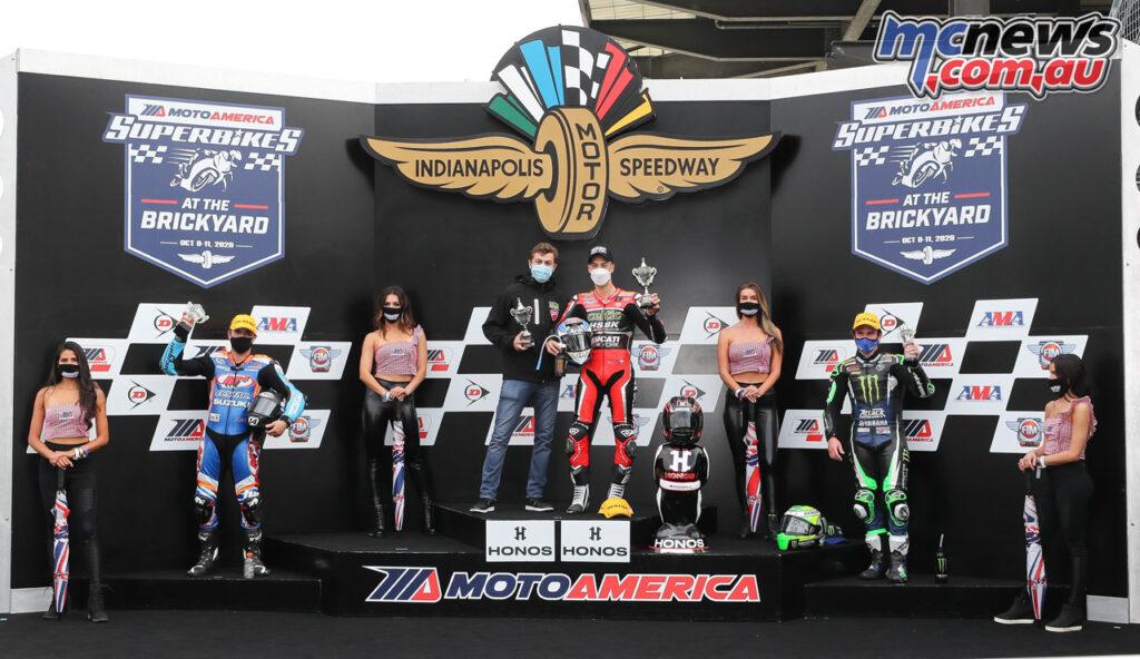 Lorenzo Zanetti topped the Race 2 podium